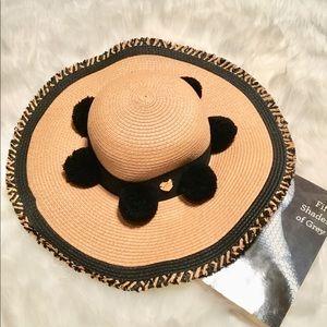 Betsy Johnson Straw Hat